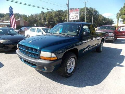 2001 Dodge Dakota for sale at Deer Park Auto Sales Corp in Newport News VA