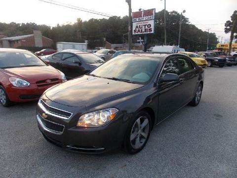 2011 Chevrolet Malibu for sale at Deer Park Auto Sales Corp in Newport News VA