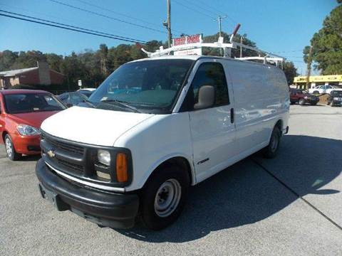 2000 Chevrolet Express Cargo for sale at Deer Park Auto Sales Corp in Newport News VA