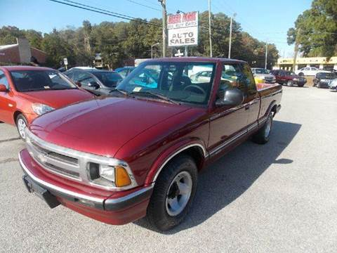 1994 Chevrolet S-10 for sale at Deer Park Auto Sales Corp in Newport News VA