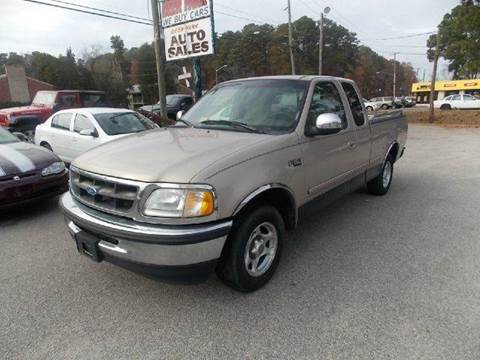 1997 Ford F-150 for sale at Deer Park Auto Sales Corp in Newport News VA