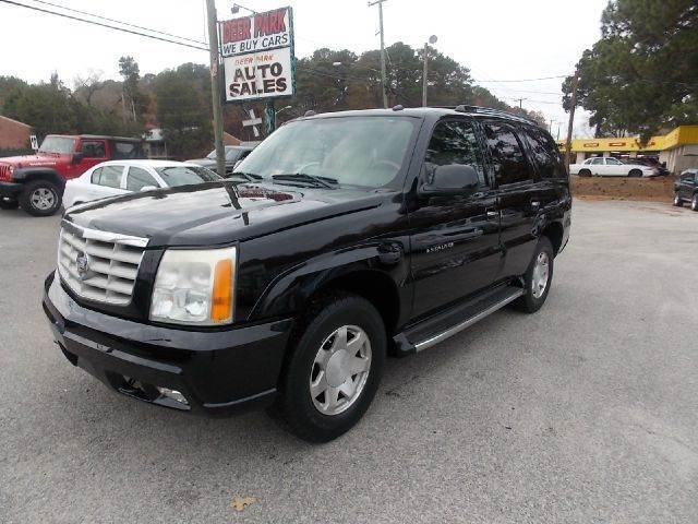2004 Cadillac Escalade for sale at Deer Park Auto Sales Corp in Newport News VA
