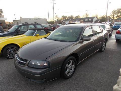 2003 Chevrolet Impala for sale at Deer Park Auto Sales Corp in Newport News VA