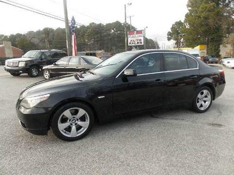 2006 BMW 5 Series for sale at Deer Park Auto Sales Corp in Newport News VA