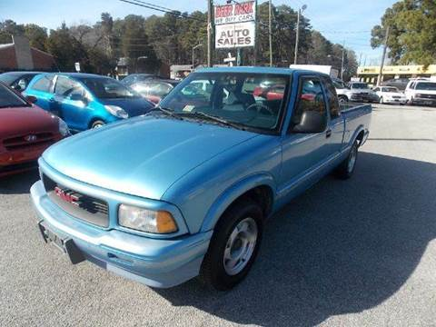 1996 GMC Sonoma for sale at Deer Park Auto Sales Corp in Newport News VA