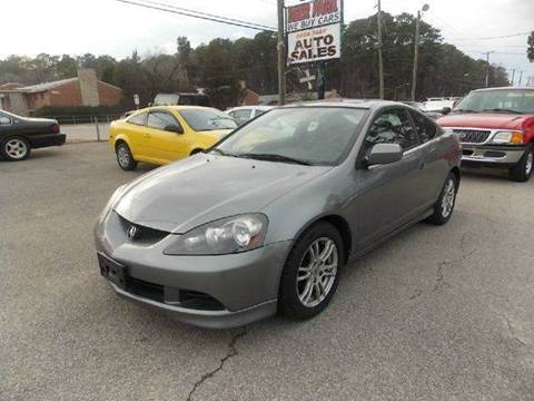 2006 Acura RSX for sale at Deer Park Auto Sales Corp in Newport News VA