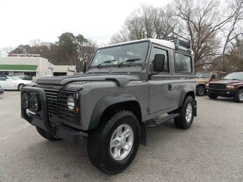 1984 Land Rover Defender for sale at Deer Park Auto Sales Corp in Newport News VA