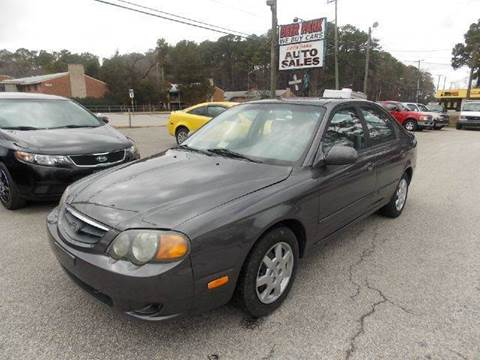 2004 Kia Spectra for sale at Deer Park Auto Sales Corp in Newport News VA