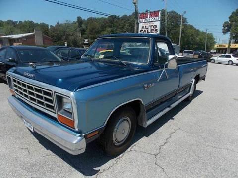 1985 Dodge RAM 150 for sale at Deer Park Auto Sales Corp in Newport News VA