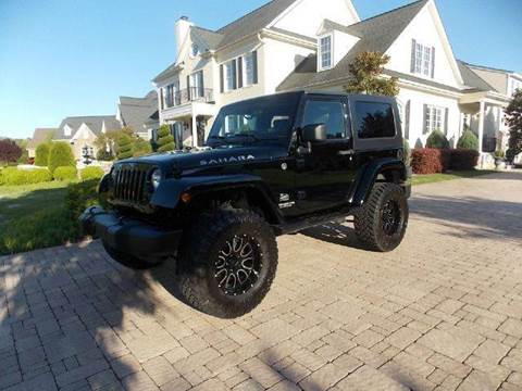 2007 Jeep Wrangler for sale at Deer Park Auto Sales Corp in Newport News VA