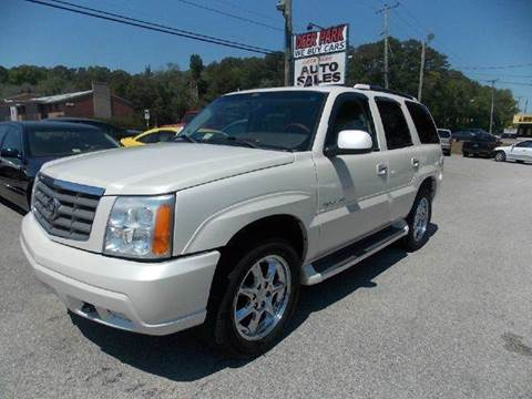2005 Cadillac Escalade for sale at Deer Park Auto Sales Corp in Newport News VA