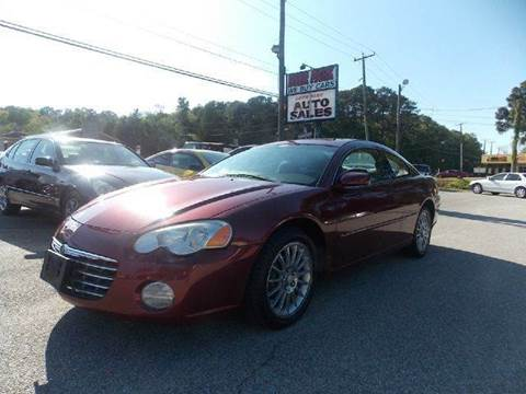 2005 Chrysler Sebring for sale at Deer Park Auto Sales Corp in Newport News VA