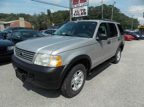 2003 Ford Explorer for sale at Deer Park Auto Sales Corp in Newport News VA