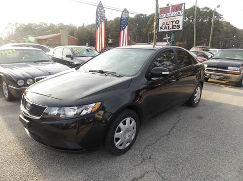 2010 Kia Forte for sale at Deer Park Auto Sales Corp in Newport News VA