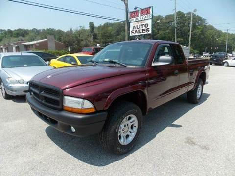 2002 Dodge Dakota for sale at Deer Park Auto Sales Corp in Newport News VA