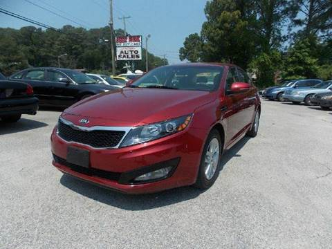 2013 Kia Optima for sale at Deer Park Auto Sales Corp in Newport News VA