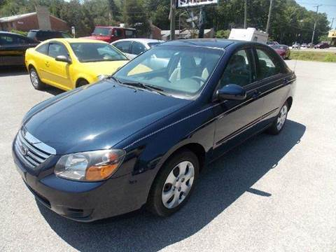 2009 Kia Spectra for sale at Deer Park Auto Sales Corp in Newport News VA