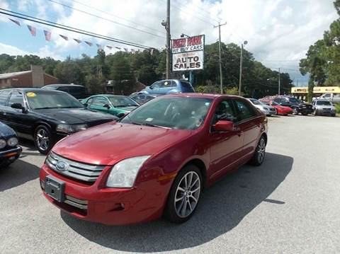 2008 Ford Fusion for sale at Deer Park Auto Sales Corp in Newport News VA