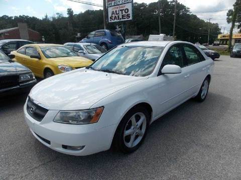2007 Hyundai Sonata for sale at Deer Park Auto Sales Corp in Newport News VA