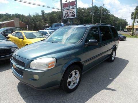 2007 Chevrolet Uplander for sale at Deer Park Auto Sales Corp in Newport News VA