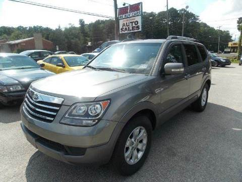 2009 Kia Borrego for sale at Deer Park Auto Sales Corp in Newport News VA