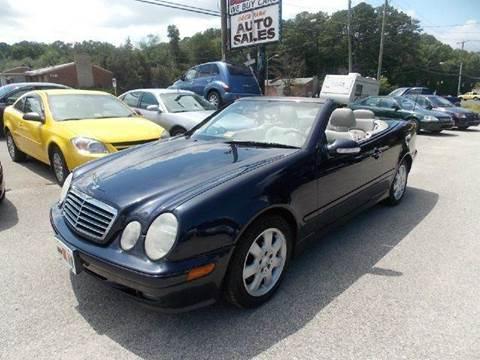 2003 Mercedes-Benz CLK-Class for sale at Deer Park Auto Sales Corp in Newport News VA