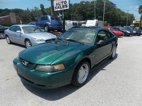2000 Ford Mustang for sale at Deer Park Auto Sales Corp in Newport News VA