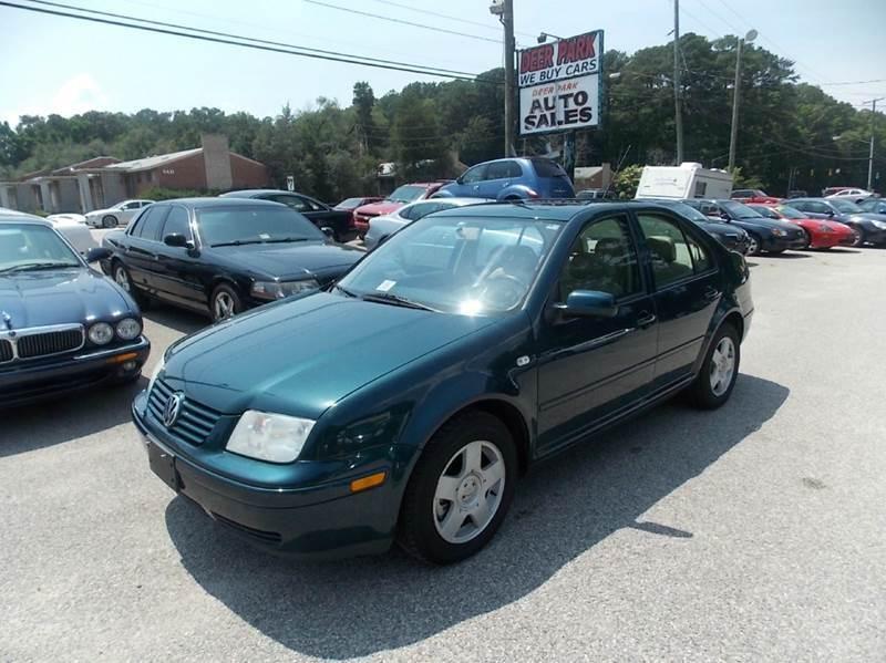 2002 Volkswagen Jetta for sale at Deer Park Auto Sales Corp in Newport News VA