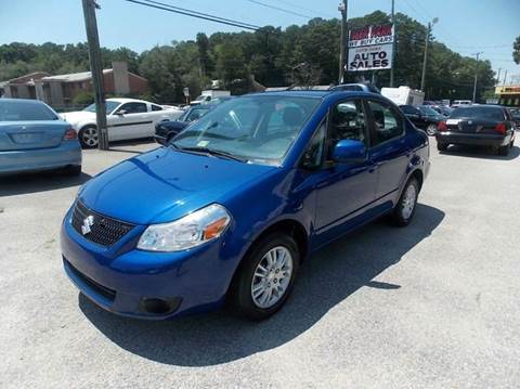 2013 Suzuki SX4 for sale at Deer Park Auto Sales Corp in Newport News VA