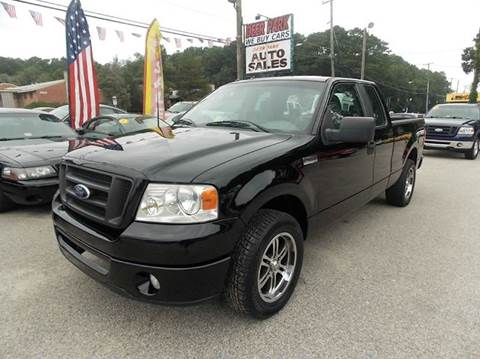 2007 Ford F-150 for sale at Deer Park Auto Sales Corp in Newport News VA
