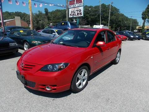 2005 Mazda MAZDA3 for sale at Deer Park Auto Sales Corp in Newport News VA