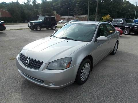 2005 Nissan Altima for sale at Deer Park Auto Sales Corp in Newport News VA