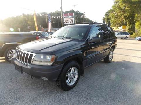 2003 Jeep Grand Cherokee for sale at Deer Park Auto Sales Corp in Newport News VA