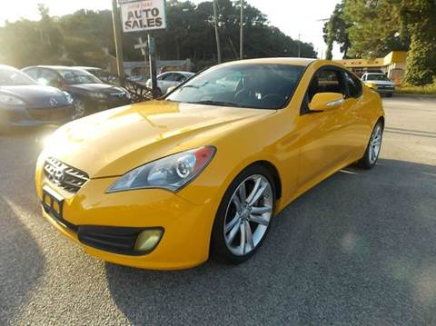 2010 Hyundai Genesis Coupe for sale at Deer Park Auto Sales Corp in Newport News VA