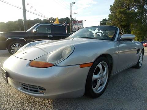 1999 Porsche Boxster for sale at Deer Park Auto Sales Corp in Newport News VA
