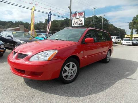 2004 Mitsubishi Lancer Sportback for sale at Deer Park Auto Sales Corp in Newport News VA