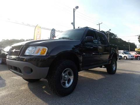 2004 Ford Explorer Sport Trac for sale at Deer Park Auto Sales Corp in Newport News VA
