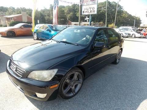 2003 Lexus IS 300 for sale at Deer Park Auto Sales Corp in Newport News VA