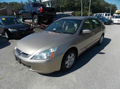 2005 Honda Accord for sale at Deer Park Auto Sales Corp in Newport News VA