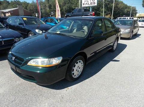 2002 Honda Accord for sale at Deer Park Auto Sales Corp in Newport News VA