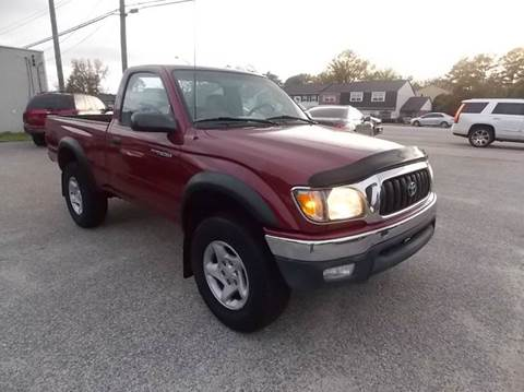 2002 Toyota Tacoma for sale at Deer Park Auto Sales Corp in Newport News VA