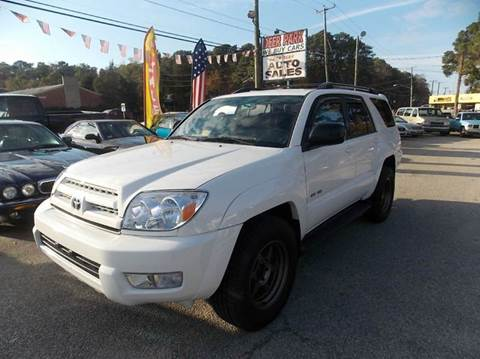 2003 Toyota 4Runner for sale at Deer Park Auto Sales Corp in Newport News VA