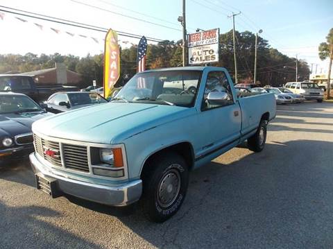 1990 GMC Sierra 1500 for sale at Deer Park Auto Sales Corp in Newport News VA