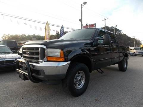 2001 Ford F-250 Super Duty for sale at Deer Park Auto Sales Corp in Newport News VA