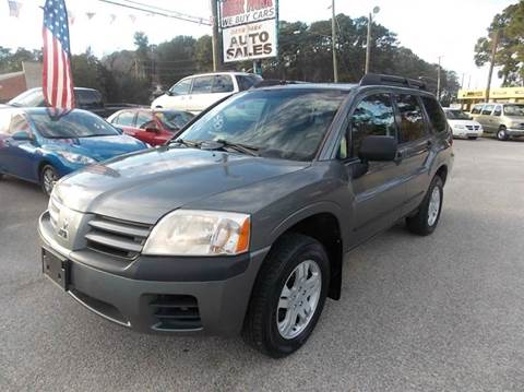 2005 Mitsubishi Endeavor for sale at Deer Park Auto Sales Corp in Newport News VA