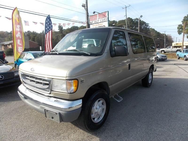 1999 Ford E-350 XLT SD 3dr E 350 Super Duty Passenger Van In