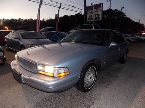 1995 Buick Park Avenue for sale at Deer Park Auto Sales Corp in Newport News VA