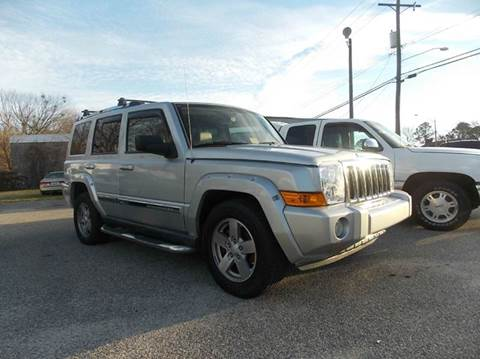2006 Jeep Commander for sale at Deer Park Auto Sales Corp in Newport News VA