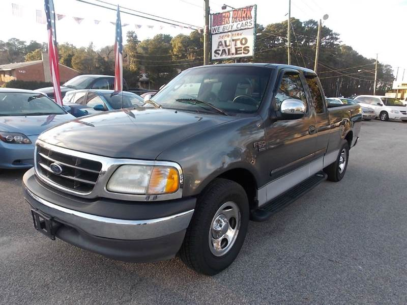 2002 Ford F-150 Xlt 4dr Supercab 2wd Styleside Sb In Newport News Va