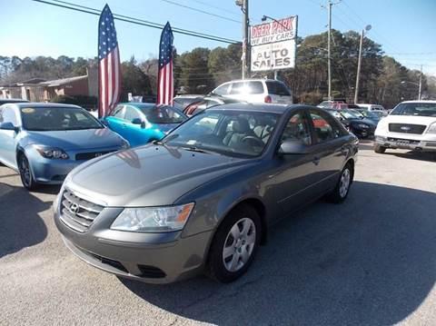 2009 Hyundai Sonata for sale at Deer Park Auto Sales Corp in Newport News VA